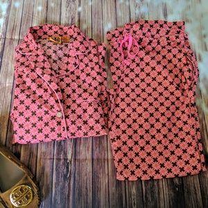 Tory Burch PJ Loungewear Pajama Set Size Small